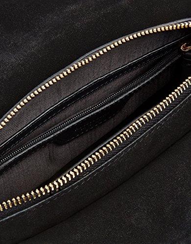 Accessorize Sac bandoulière en cuir Greta - Femme Noir