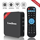 Leelbox Q1 Android 6.0 Tv Box Smart TV Box 1GB RAM+8GB ROM Supporta 4K (60Hz)...