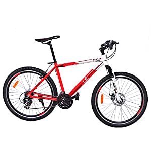 UT HT3 26T 21 Speed Junior Cycle  18-inches (Red & White)