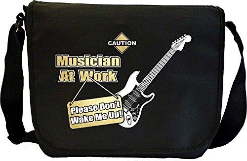 Electric-Guitar-Dont-Wake-Me-Sheet-Music-Document-Bag-Musik-Notentasche-MusicaliTee