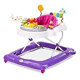 Caretero Toyz Stepp Lauflernhilfe, Gehhilfe, Laufhilfe mit Spielcenter, Purple