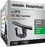 Rameder Komplettsatz, Anhängerkupplung starr + 7pol Elektrik für OPEL Vectra B Caravan (140160-01578-1)