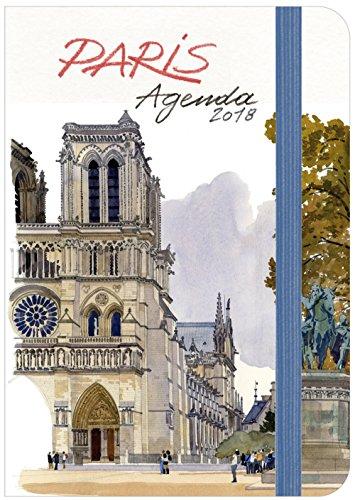 Paris agenda 2018 Petit format par Fabrice Moireau