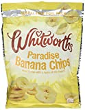 Whitworths Paradise Banana Chips 175 g (Pack of 4)