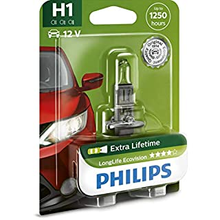 Philips 12258LLECOB1 Scheinwerferlampe H1 Long Life Eco Vision