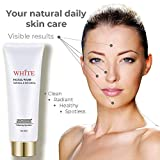 All Natural Face Wash - Organic and Botanical Facial Cleanser with Vitamin C and Aloe Vera, Ideal as Exfoliator, Whitener, Acne And Spot Treatment - For Even, Bright, Smooth & Radiant Soft Skin, 120ml