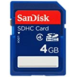 SanDisk Secure Digital High Capacity (SDHC) Speicherkarte 4GB