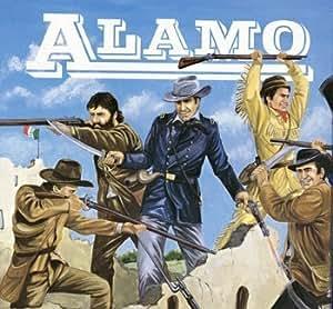 Texan Figures Alamo American History Figures Set 1/72 Imex by Imex TOY (English Manual)