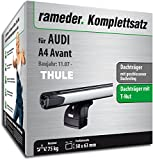 Rameder Komplettsatz, Dachträger SlideBar für Audi A4 Avant (114991-06988-1)