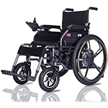 Wheel-hy Silla DE Ruedas ELÉCTRICA Power Chair - para Personas Mayores y discapacitadas
