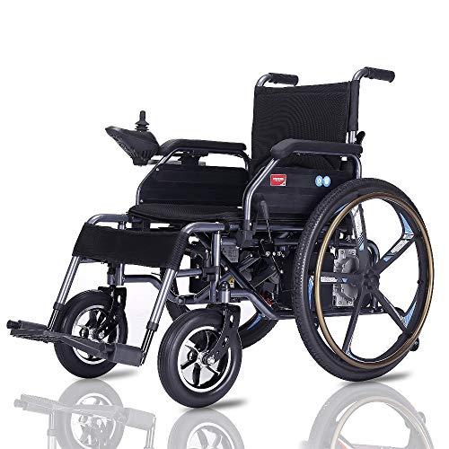 Wheel-hy Silla DE Ruedas ELÉCTRICA Power Chair - para Personas Mayores y...