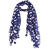Ziva Fashion Printed cotton poly Women's Scarf, Stole