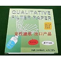 Cualitativo Análisis Filtro de papel/filting Papel 110mm, 30–50& # x3bc; M, 100pcs/pack