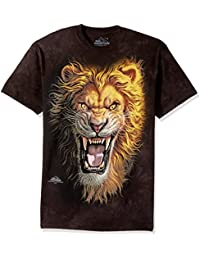 T-shirt Mark Fredrickson- Asian Lion - Noir