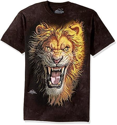 T-shirt Mark Fredrickson- Asian Lion 4XL - Noir