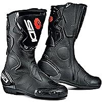 SIDI Fusion Stivali da Moto, Nero, 43