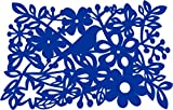 Dining Table Mat in Blue Made from PVC - 6 Pcs Set (45cm x 30cm)