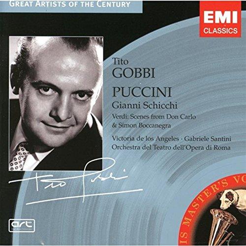 Preisvergleich Produktbild Puccini: Gianni Schicchi / Verdi: Scenes from Don Carlo & Simon Boccanegra