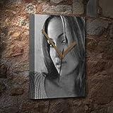 JENNIFER LOPEZ - Canvas Clock (LARGE A3 - Signed by the Artist) #js003