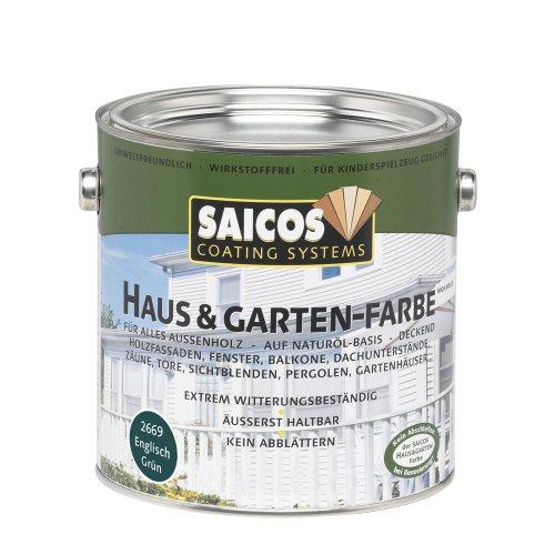 Saicos 2669 300 Haus und Gartenfarbe englisch grün 0.75 l