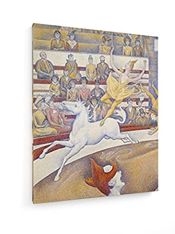 Georges Seurat - The Circus - Detail - 1891 - 23,62