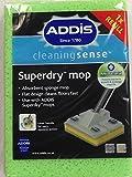 4 x Addis Superdry antibakterieller Schwamm für flachen Wischmopp
