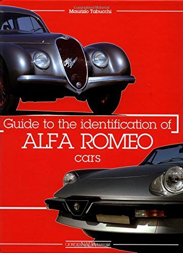 Guide to the Identification of Alfa Romeo Cars by Maurizio Tabucchi (2000-12-20)