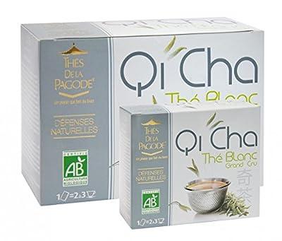 Qi Cha Thé Blanc Bio 90 infusettes