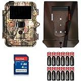 Kit caméra de chasse: Dörr Snapshot Extra Black 5.0IR avec boîtier en métal