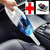 #2: Hk Villa's 12-V Portable Car Vaccum Cleaner Multipurpose Vacuum Cleaner with Air Foot Pump Heavy Compressor for Bike,Car,Cycles,& All Other Vehicles