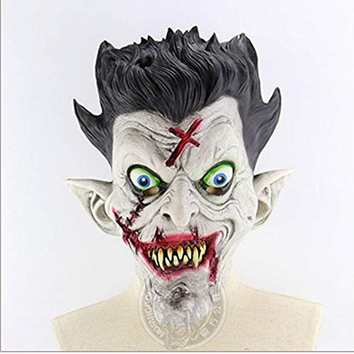 Kostüm Full House - AIYA Mr. Horror Zombie Full Halloween Bar Haunted House Ball Props Latex Scary Mask