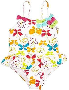 [Sponsorizzato]Changhants bambino costumi da bagno ragazza con motivi di farfalle e multicolore arco bambino bambini 2-6Y formare...