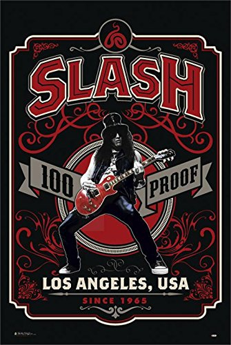 Slash 100% Proof - Los Angeles Poster standard