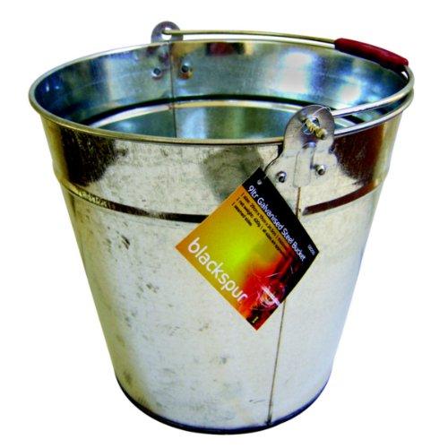 Steel Bucket 9 Litre Galvanised 24 Pack/S