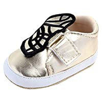 MERICAL Baby Girls Shoes Cute Newborn Infant Butterfly Casual First Walkers Toddler Shoes