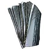 Supmico 12 X Kfz Schallschutz Dämpfung Isolierung 5mm geschlossenen Zellschaum Glasfaser Schalldicht Klebstoff Matte 30cm x 50cm