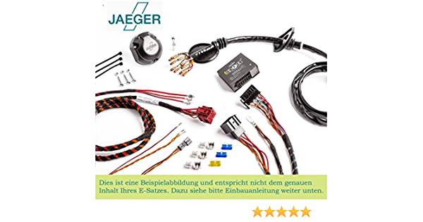 Jaeger 21040510 Elektrosatz Anhängevorrichtung Auto