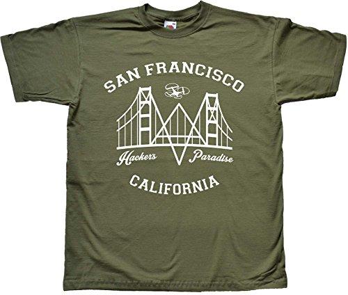 san-francisco-hackers-paradise-green-t-shirt-medium