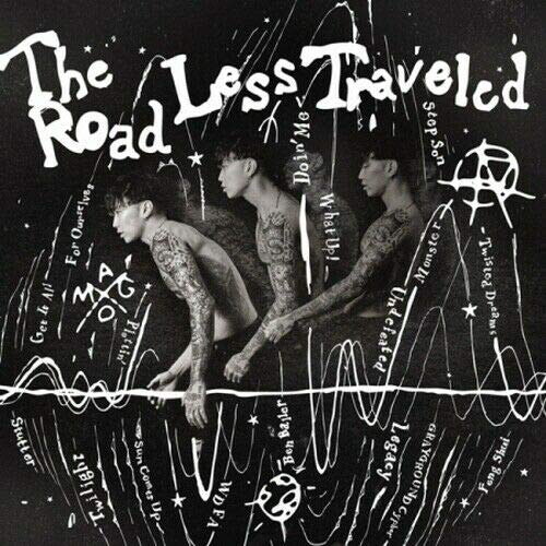 JAY PARK - [The Road Less Traveled 4th Album CD+PhotoBook+Tracking K-POP Sealed Hip-Hop