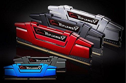 Affordable G.SKILL Ripjaws V Series F4-3200C16Q-32GVK 32 GB (8 GBx4) DDR4 3200 MHz C16 1.35 V Memory Kit – Classic Black Reviews
