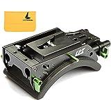 Lanparte V-Mount Blocage Support Epaule avec 15mm Rod pour Rig Support Système Standard Caméra Caméscope (SS-02)
