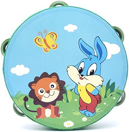 Jouet Petite Enfance InstruHommes t de percussion de tambour en en en bois de fleur de tambour de main de 18cm (Lion Rabbit) | Un Prix Raisonnable  03a664