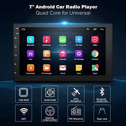 Semoic 7 Pollici Android8.1 2 DIN Auto Dvd Radio Lettore multimediale Navigazione GPS Universale per Nissan Peugeot Toyota Doble DIN Autoradio