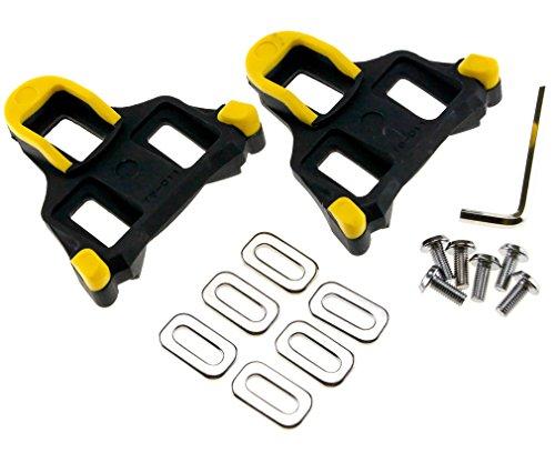Preisvergleich Produktbild Ein Paar Fahrrad Pedal Rennrad-Pedal-Stossplatte fuer Shimano SM-SH11 SPD-SL