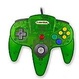 Childhood Retro Classic USB Controller Gamepad Joysticks für N64 Style PC MAC klar Dschungel Grün