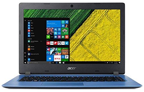 Acer A114-31-C3MM Aspire 1 - Ordenador portátil de 14' HD (Intel Celeron N3350, 4 GB de RAM, 32 GB eMMC, Intel HD Graphics, Windows 10S) negro - Teclado QWERTY Español [España]