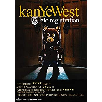40a73437d743 KANYE WEST Late Registration PHOTO Print POSTER Yeezy Boost 350 Yeezus Jay  Z 013 A3