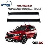 Alu, barre portatutto, portapacchi, nero per Fiat con certificazione TÜV/ABE