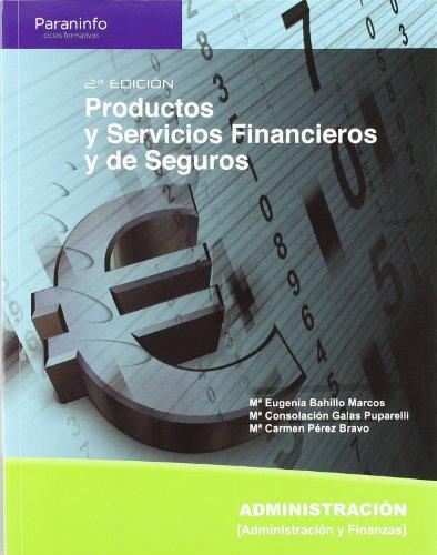 Productos y servicios financieros y de seguros por MARÍA EUGENIA BAHILLO MARCOS