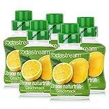 SodaStream Getränke-Sirup Softdrink Zitrone naturtrüb Geschmack 375ml (5er Pack)